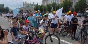 Велопробег против наркотиков